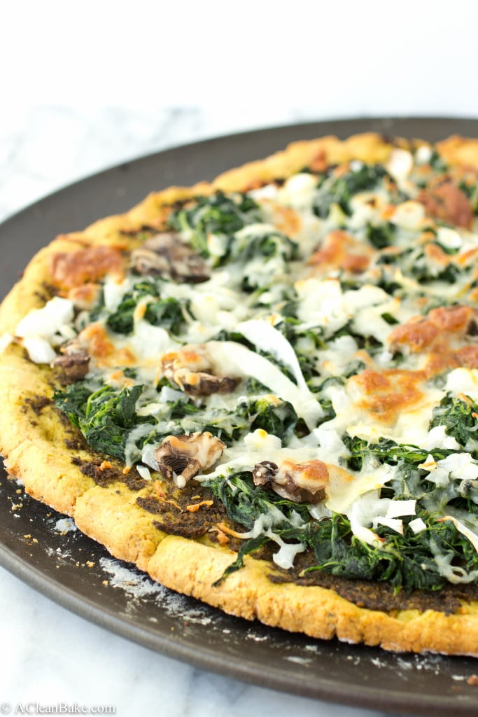 Grain-Free Thin Crust Pizza via A Clean Bake