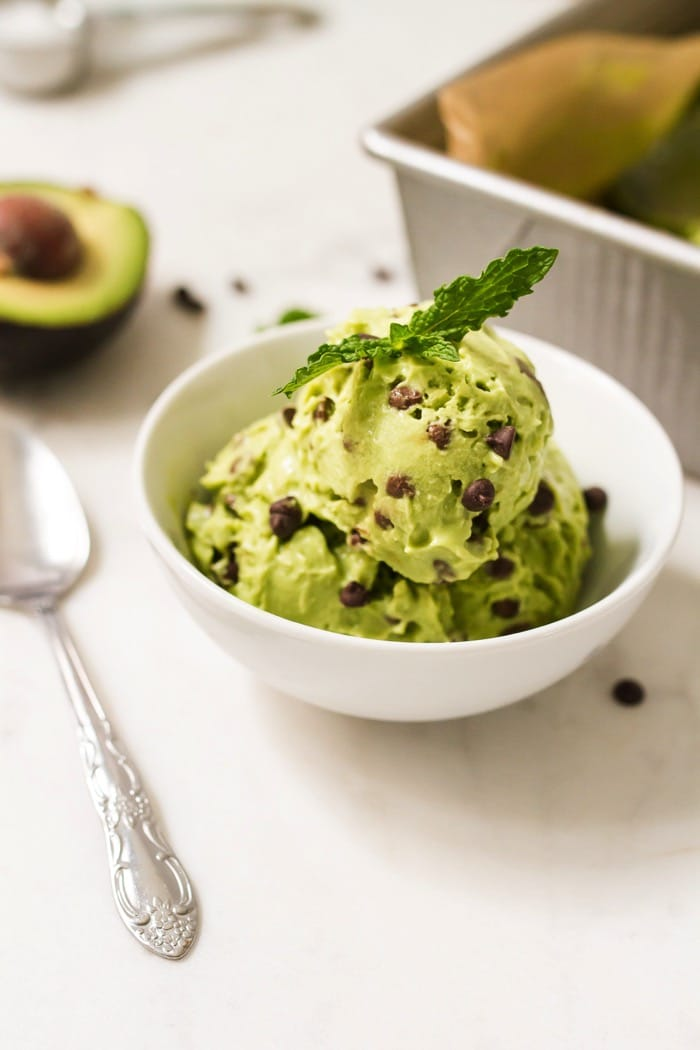 Vitamix Chocolate Avocado Ice Cream Recipe