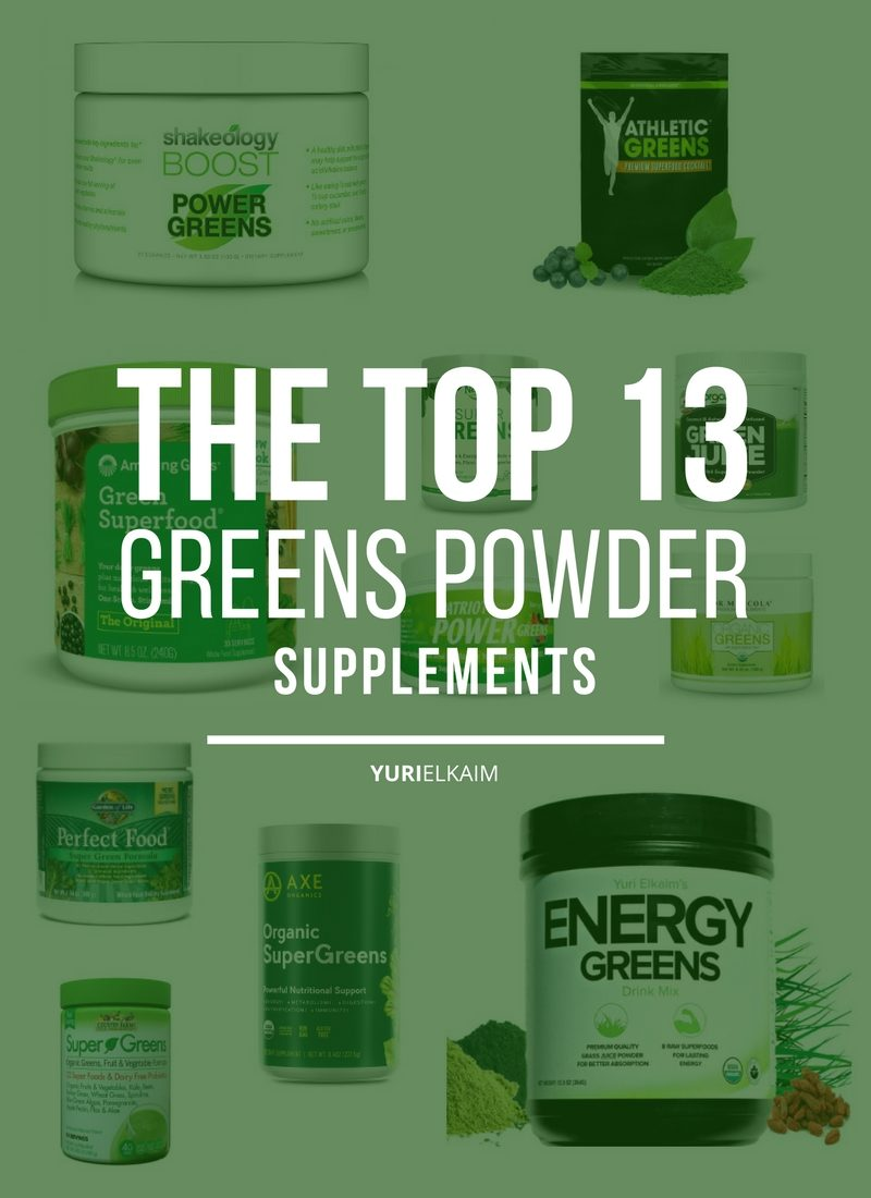Greens Supplement Review: A Look At The Top 13 Brands