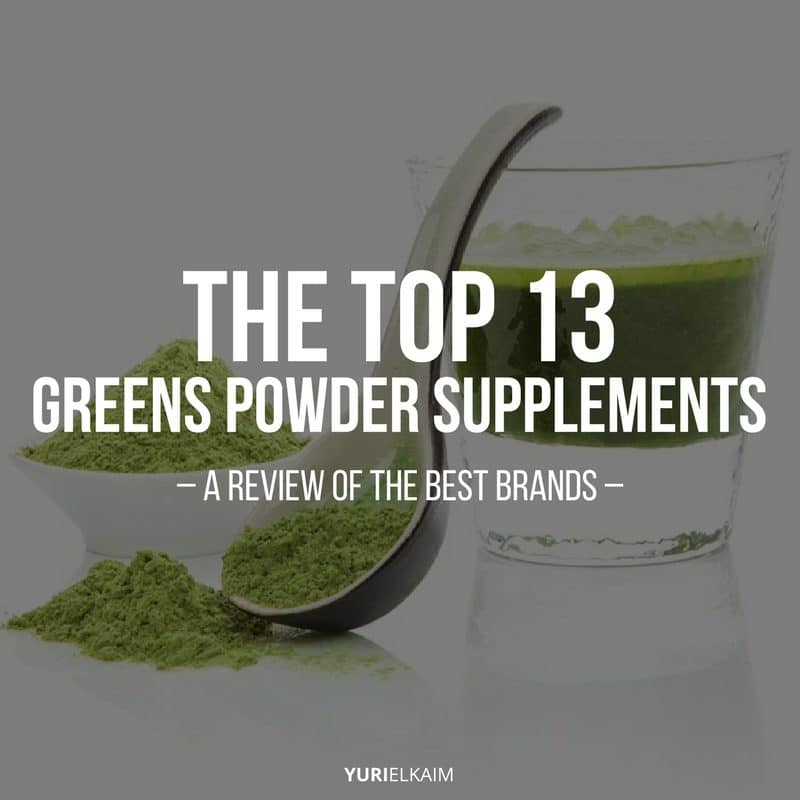 The Top 13 Greens Powder Supplements